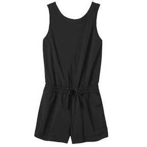 22634dd9b72f Athleta Shorts - Athleta Crossback Romper Shortie Black S